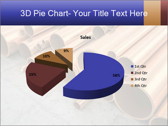 An image of some nice copper pipes PowerPoint Template - Slide 35
