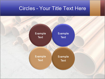 An image of some nice copper pipes PowerPoint Template - Slide 38