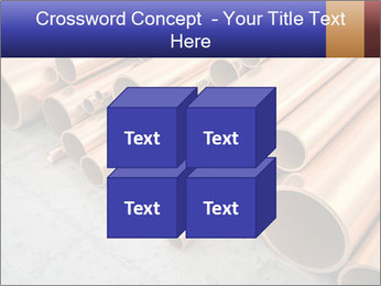 An image of some nice copper pipes PowerPoint Template - Slide 39