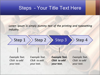 An image of some nice copper pipes PowerPoint Template - Slide 4