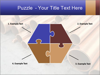 An image of some nice copper pipes PowerPoint Template - Slide 40