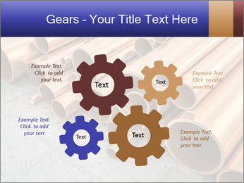 An image of some nice copper pipes PowerPoint Templates - Slide 47