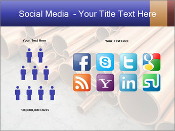 An image of some nice copper pipes PowerPoint Templates - Slide 5