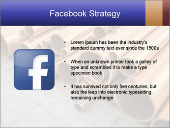 An image of some nice copper pipes PowerPoint Template - Slide 6