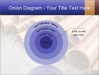 An image of some nice copper pipes PowerPoint Template - Slide 61