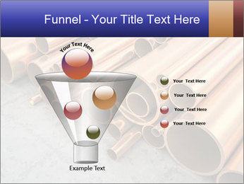An image of some nice copper pipes PowerPoint Template - Slide 63