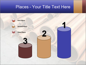 An image of some nice copper pipes PowerPoint Template - Slide 65
