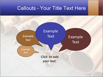 An image of some nice copper pipes PowerPoint Template - Slide 73