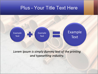 An image of some nice copper pipes PowerPoint Template - Slide 75