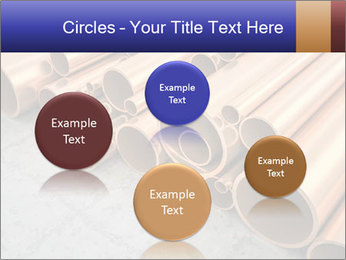 An image of some nice copper pipes PowerPoint Templates - Slide 77