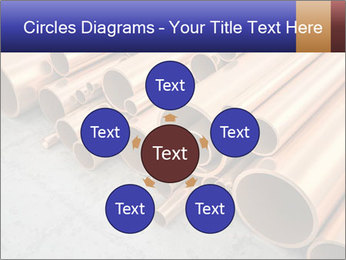 An image of some nice copper pipes PowerPoint Template - Slide 78