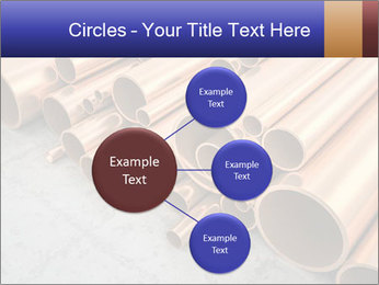 An image of some nice copper pipes PowerPoint Template - Slide 79