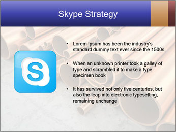 An image of some nice copper pipes PowerPoint Templates - Slide 8