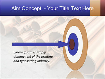 An image of some nice copper pipes PowerPoint Template - Slide 83