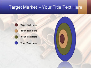 An image of some nice copper pipes PowerPoint Template - Slide 84