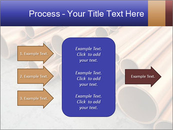 An image of some nice copper pipes PowerPoint Template - Slide 85