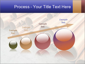 An image of some nice copper pipes PowerPoint Template - Slide 87