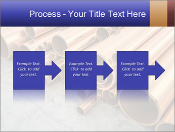 An image of some nice copper pipes PowerPoint Template - Slide 88