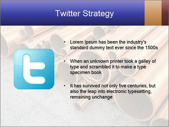 An image of some nice copper pipes PowerPoint Templates - Slide 9