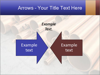 An image of some nice copper pipes PowerPoint Templates - Slide 90