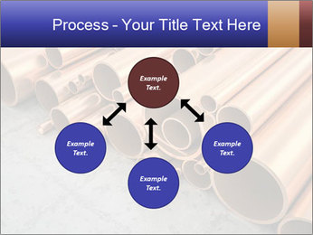 An image of some nice copper pipes PowerPoint Template - Slide 91