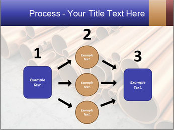 An image of some nice copper pipes PowerPoint Template - Slide 92