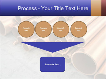 An image of some nice copper pipes PowerPoint Template - Slide 93