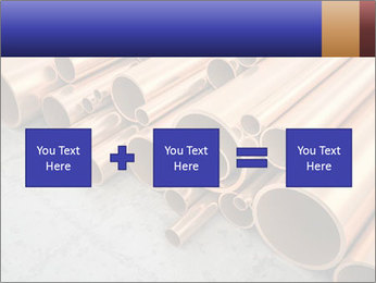 An image of some nice copper pipes PowerPoint Template - Slide 95