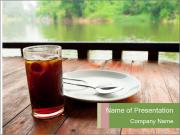 Fresh cola drink PowerPoint Template