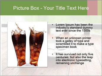 Fresh cola drink PowerPoint Templates - Slide 13