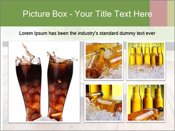 Fresh cola drink PowerPoint Template - Slide 19