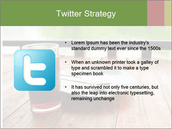 Fresh cola drink PowerPoint Template - Slide 9