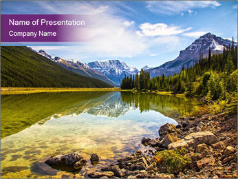 Canada PowerPoint Template - Slide 1