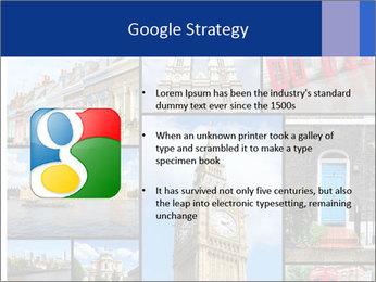 Collage from London, UK PowerPoint Templates - Slide 10