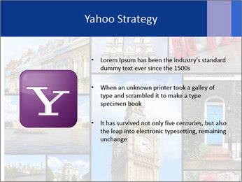 Collage from London, UK PowerPoint Templates - Slide 11