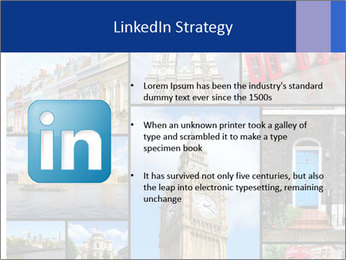 Collage from London, UK PowerPoint Templates - Slide 12