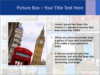 Collage from London, UK PowerPoint Templates - Slide 13