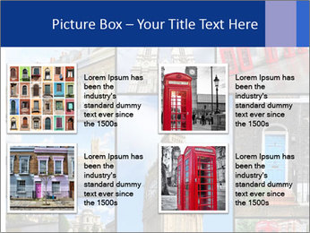 Collage from London, UK PowerPoint Templates - Slide 14