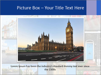 Collage from London, UK PowerPoint Templates - Slide 15