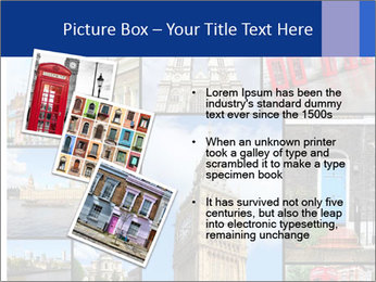Collage from London, UK PowerPoint Templates - Slide 17