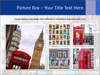 Collage from London, UK PowerPoint Templates - Slide 19