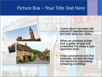 Collage from London, UK PowerPoint Templates - Slide 20