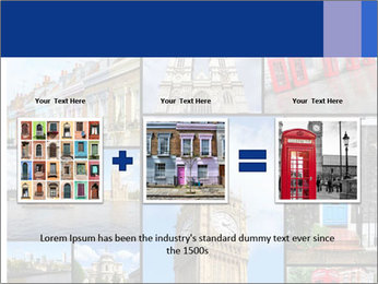 Collage from London, UK PowerPoint Templates - Slide 22