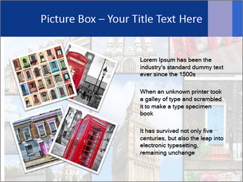Collage from London, UK PowerPoint Templates - Slide 23