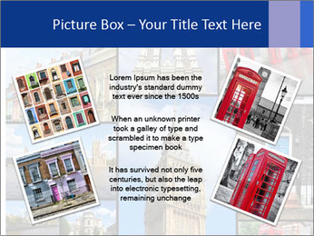 Collage from London, UK PowerPoint Templates - Slide 24