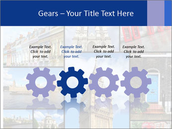 Collage from London, UK PowerPoint Templates - Slide 48
