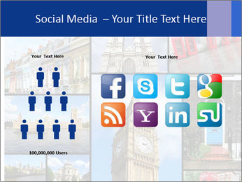 Collage from London, UK PowerPoint Templates - Slide 5