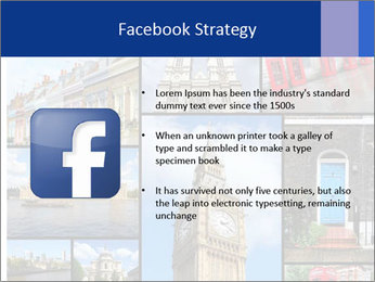 Collage from London, UK PowerPoint Templates - Slide 6