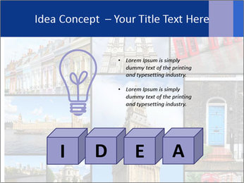 Collage from London, UK PowerPoint Templates - Slide 80