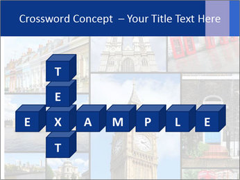 Collage from London, UK PowerPoint Templates - Slide 82